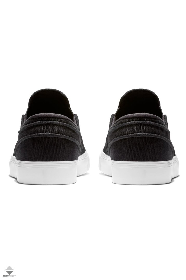 Nike SB Zoom Stefan Janoski Slip-On Sneakers Black White 833564-009 f8003e447a5d1