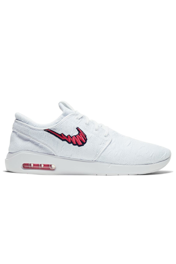 Desconocido Asesinar Especialidad  Nike SB Air Max Stefan Janoski 2 Sneakers White Watermelon Midnight Navy  AQ7477-104