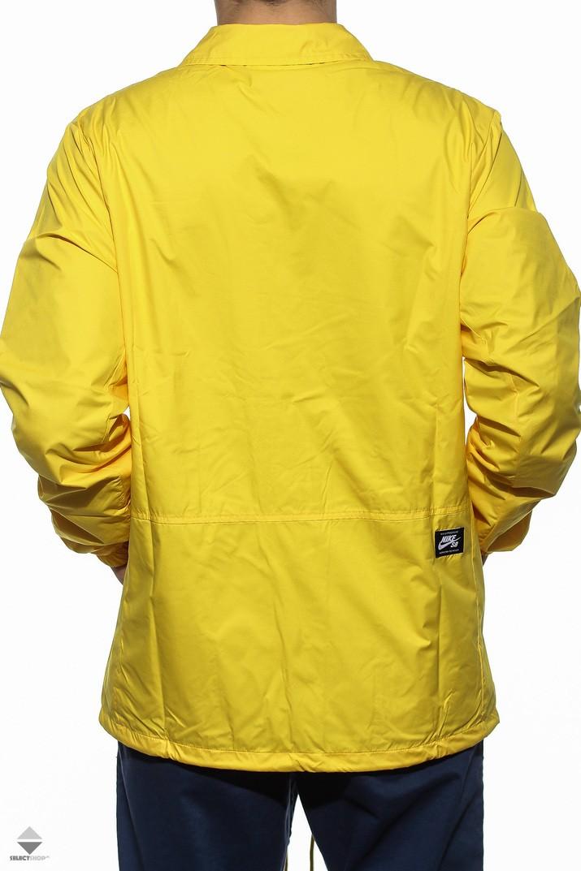 217313ee79 Nike SB Shield Coaches Windbreaker Yellow 829509-719