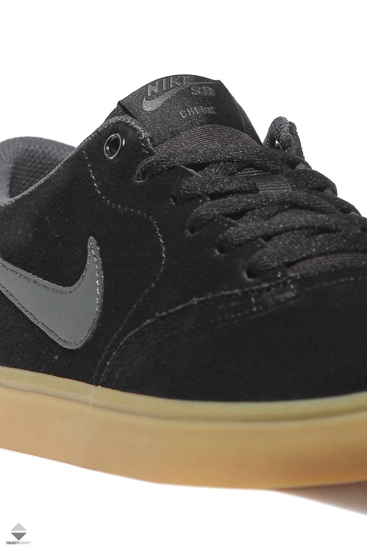 ad14abd8c842c Nike SB Check Solar Sneakers Black Anthracite 843895-003