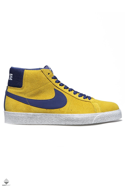 7d320f175b225 Nike SB Zoom Blazer Mid Shoe Tour Yellow 864349-751
