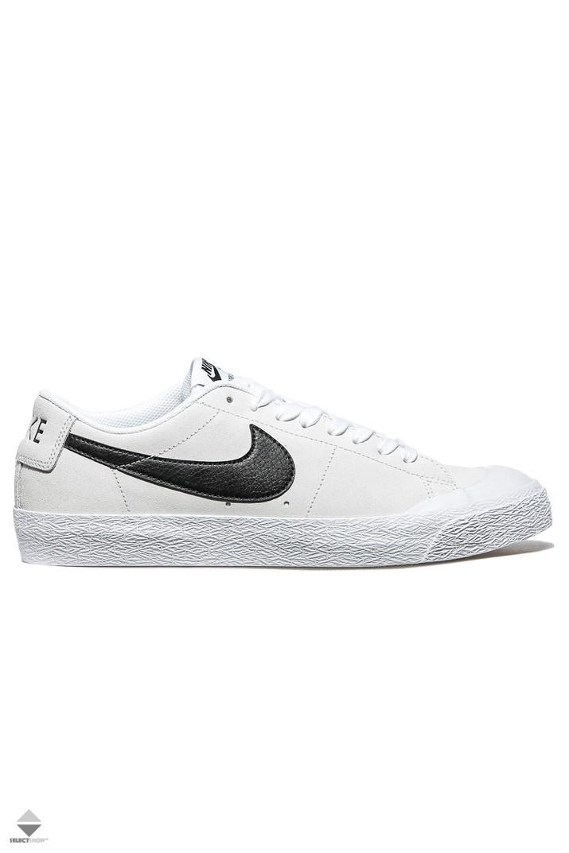 fa60724e016 Nike SB Blazer Zoom Low XT Sneakers 864348-101 Summit White Black White