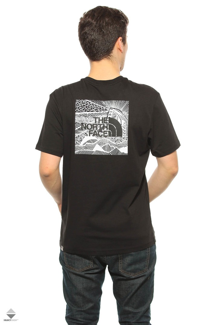 035284b35a933d The North Face Redbox Celebration T-shirt T92ZXEJK3 Black