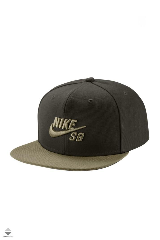 Nike SB Pro Snapback 628683-355 Dark Olive 5d989fc9f4