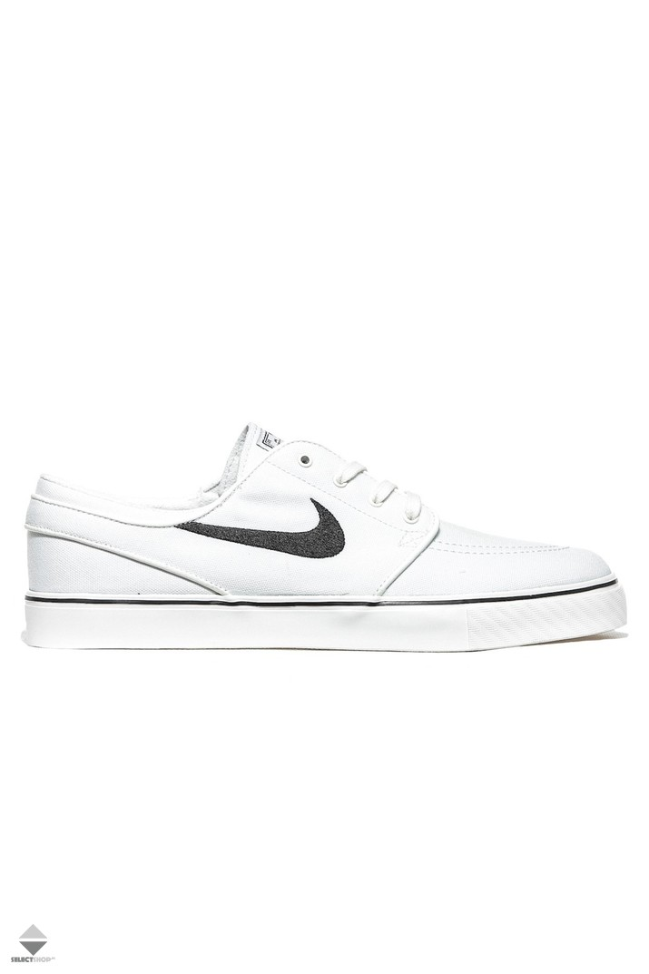 exclusive range fashion hot product Nike Zoom Stefan Janoski Canvas 615957-100 Sneakers Summit White Black