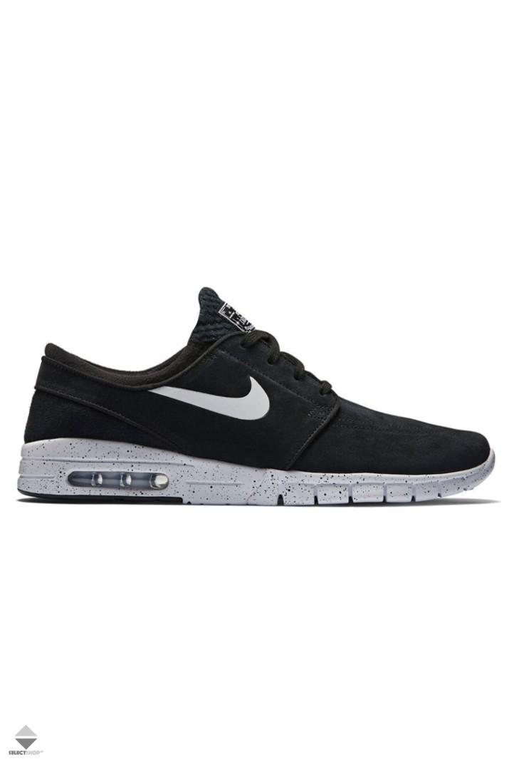 san francisco cfbef e21da Nike Stefan Janoski Max L Sneakers Black New 685299-002Z