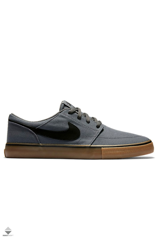 Nike SB Portmore II Solar CNVS Sneakers Dark Grey 880268-009