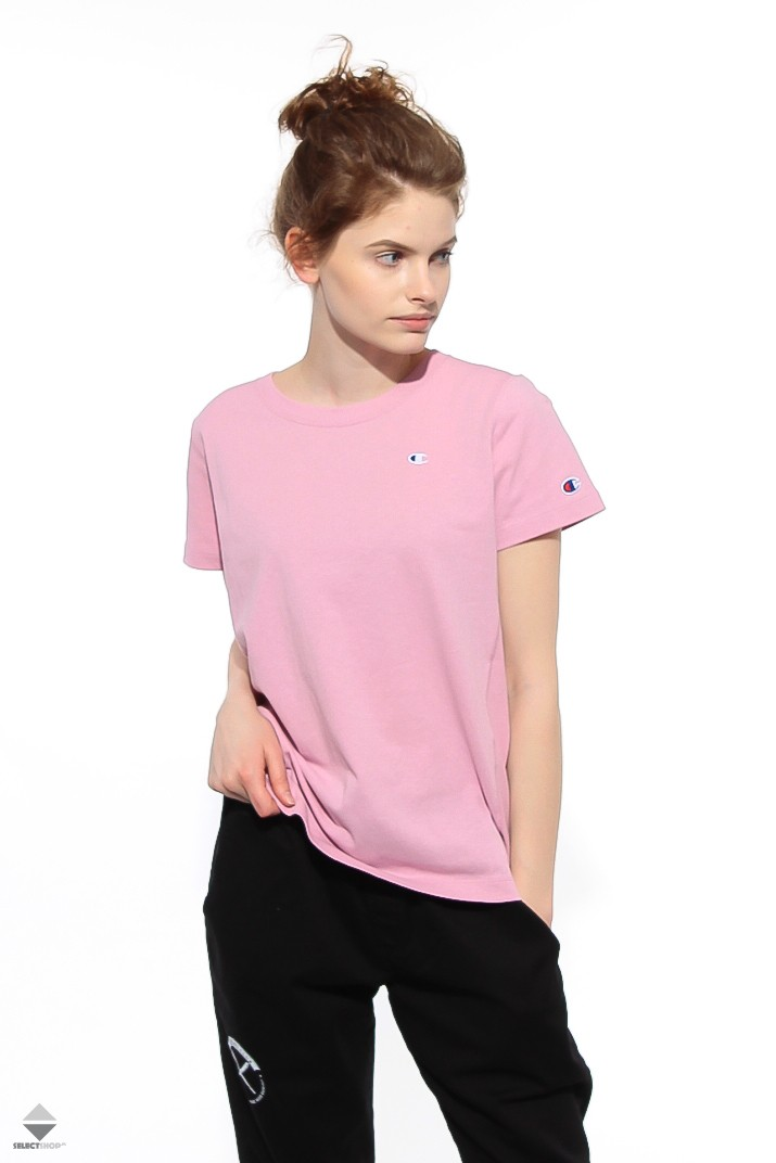 a516d46857f2 Champion Reverse Weave Women T-shirt Pink 110472 PS059