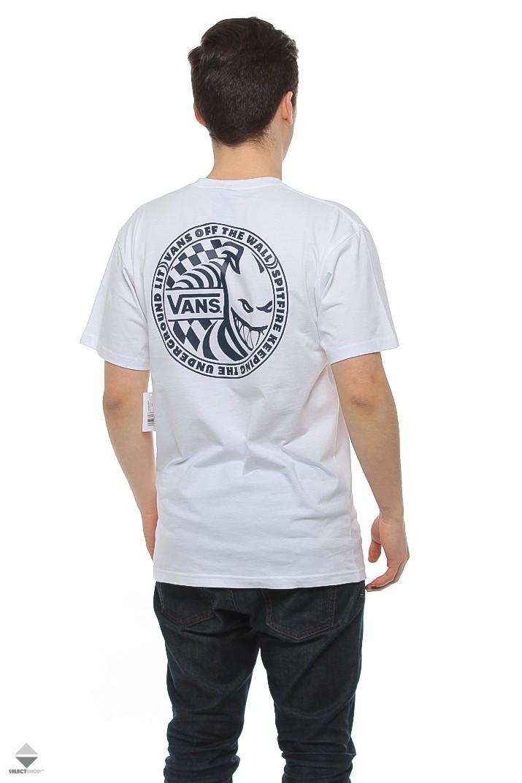 32ff602309 Vans X Spitfire Photo T-shirt White