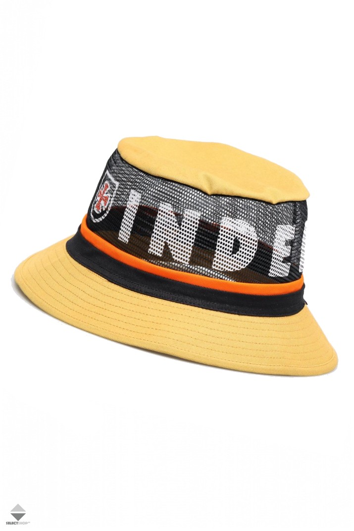 dadcd06234f9f5 Brixton X Independent F/U Hardy Hat Yellow 10304-YELLW