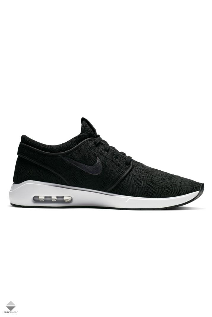 maníaco Labor Posesión  Nike SB Air Max Stefan Janoski 2 Sneakers Black White AQ7477-001