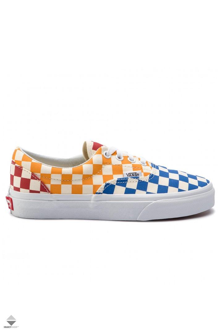 Vans Era Checkerboard Sneakers Yellow