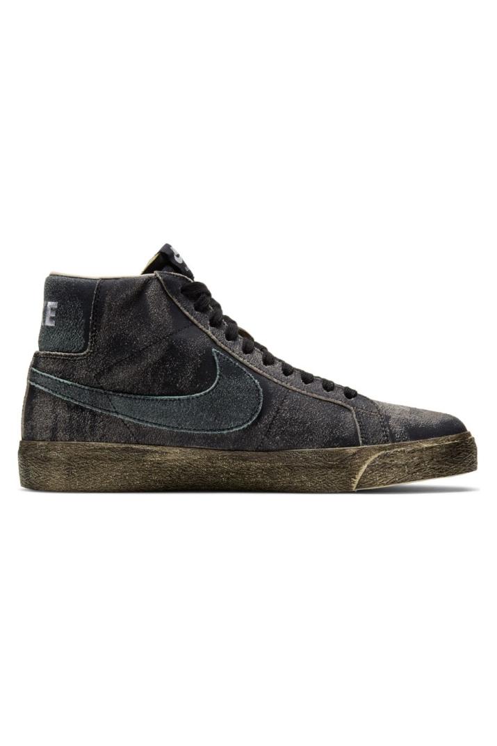 Nike SB Zoom Blazer Mid Prmium Sneakers Black Grey DA1839-001