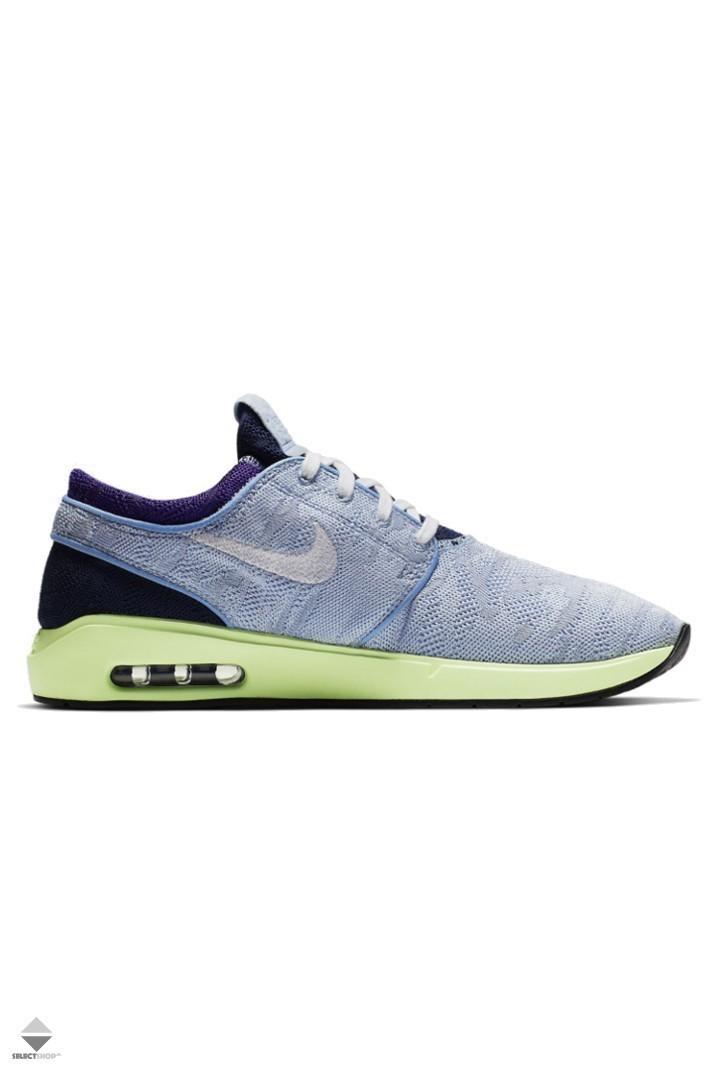 veinte Litoral Por  Nike SB Air Max Stefan Janoski 2 Sneakers Blue Yellow AQ7477-402