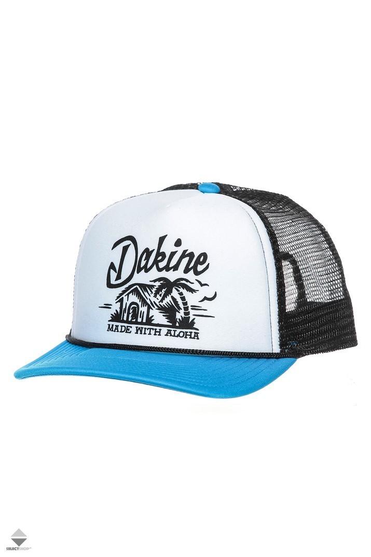 cbfb7547941 Dakine Beach Hut Trucker Blue White 10001263