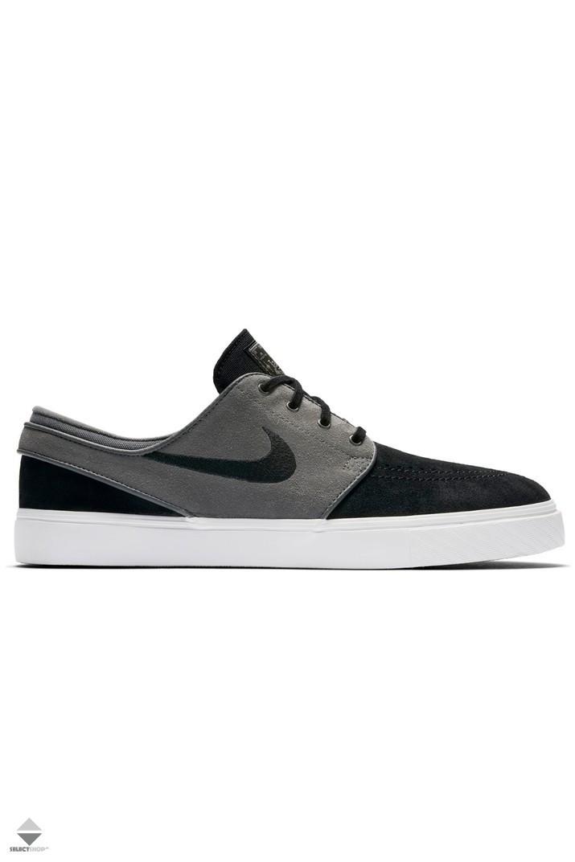 Nike Zoom Stefan Janoski Sneakers Dark Grey   Black-Summit White 333824-059 b3fee0390