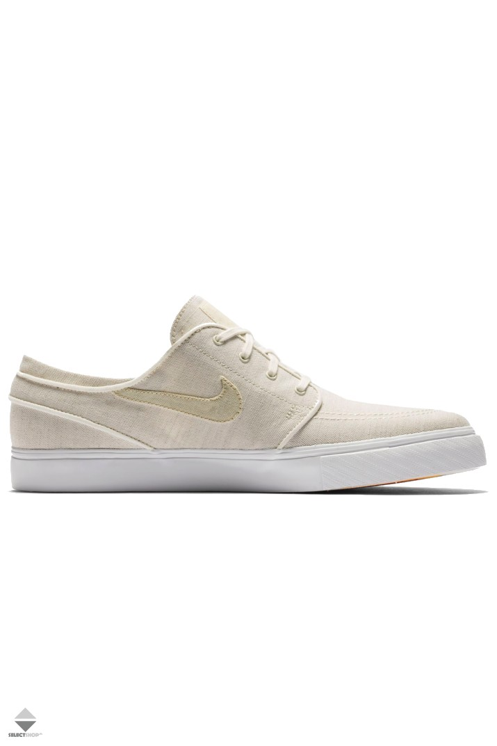 new arrival 79bd4 8a68d Nike SB Zoom Stefan Janoski Canvas Deconstructed Sneakers Sail Fossil  AH6417-100