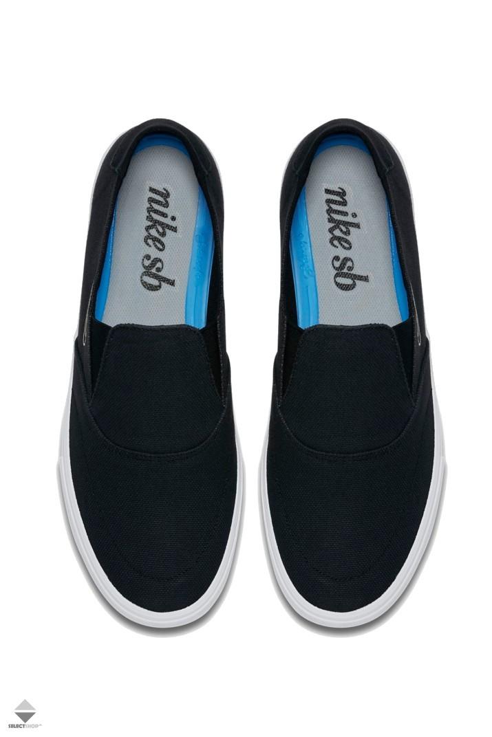 5693c1632625 Nike SB Portmore II Solarsoft Slip-on Sneakers Black Light Bone ...