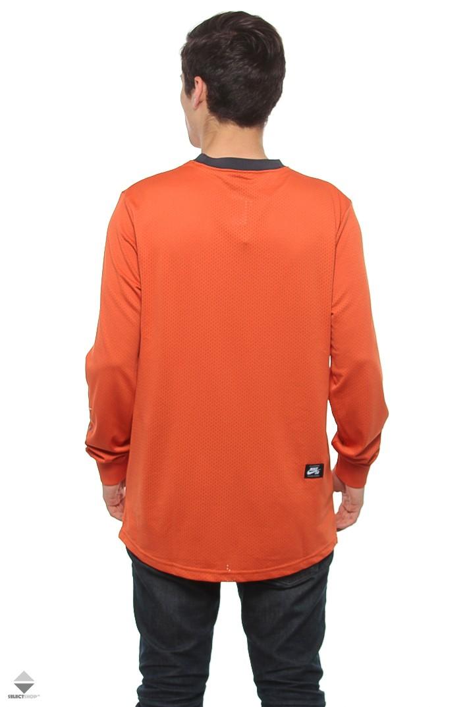 df4c655a2 Nike SB Dry Longsleeve Orange 886100-879