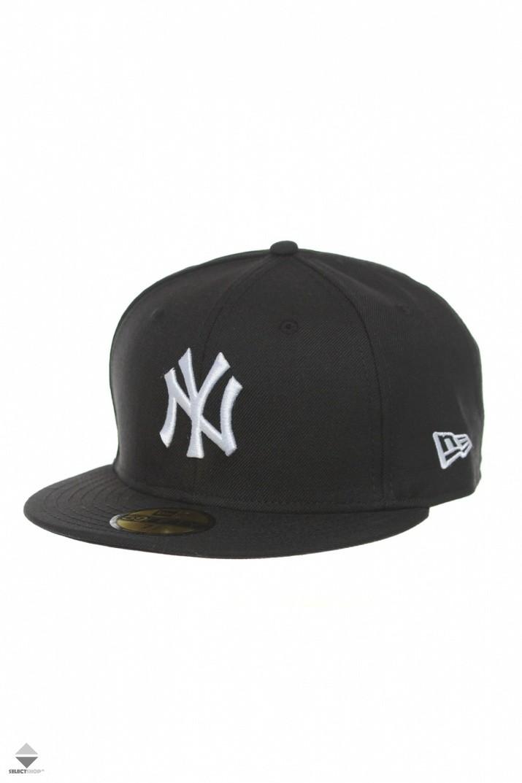 różne kolory autentyczny wyprzedaż w sprzedaży Czapka New Era New York Yankess Black White