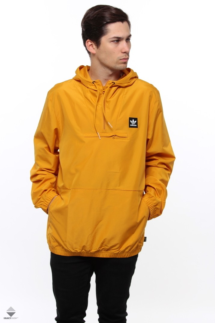 c677e2cf3 Adidas Packable Hip Jacket Yellow DH6654