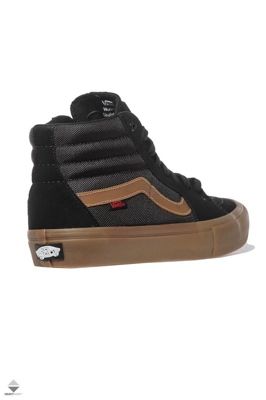 6b50cf9fbc132c Vans X Thrasher SK8-Hi Pro Sneakers Black Gum VA347TOTF