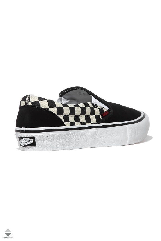 Vans X Thrasher Slip On Pro Sneakers Black White Checkboard  VA347VOJ6 e72b7ab04