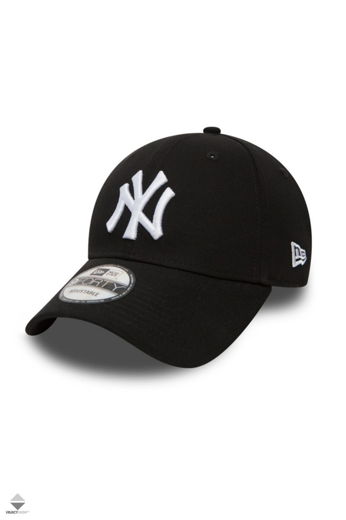e221f739df2 New Era 940 Leauge Basic New York Yankees Snapback Hat Black White