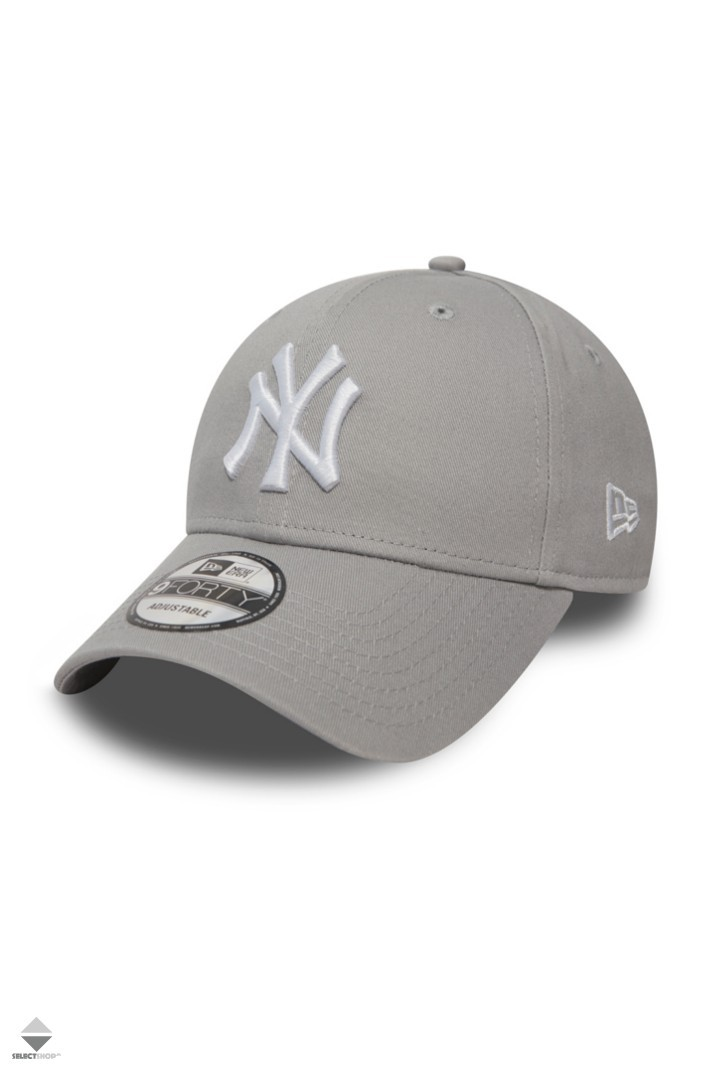 New Era 940 Leauge Basic New York Yankees Snapback Hat 10531940 Grey 7882c7f58c3