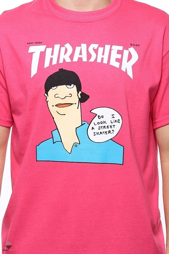 2e07d090687c Thrasher Gonz Cover T-shirt Pink