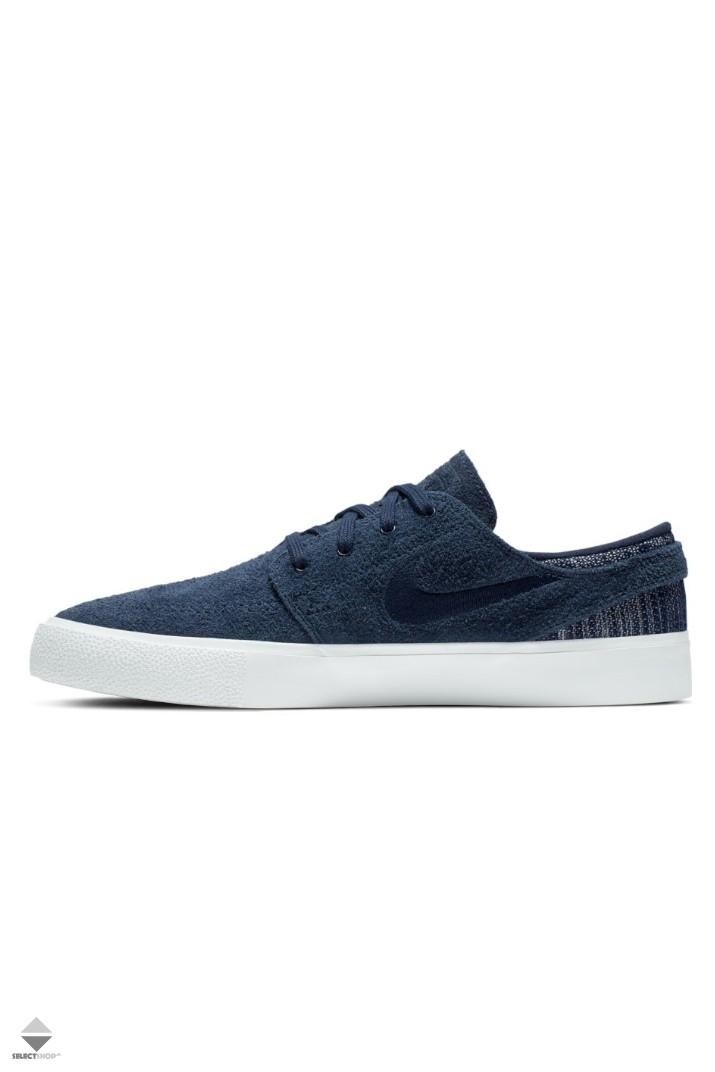 Bourgeon cigarro ola  Nike SB Zoom Stefan Janoski RM Premium Sneakers Obsidian White CI2231-400