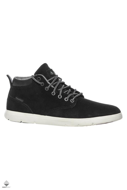 0911933a22c463 Emerica Wino Cruiser HLT Winter Boots Black White 6101000099-976