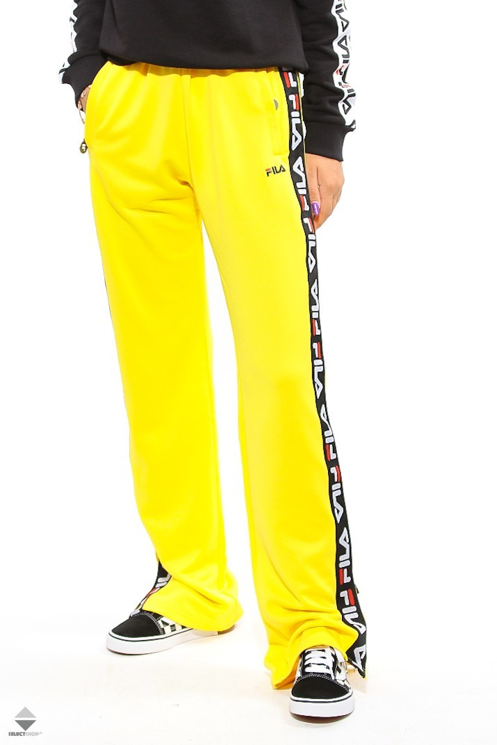 76728957a4bc Fila Thora Track Pants Vibrant Yellow 682324-015