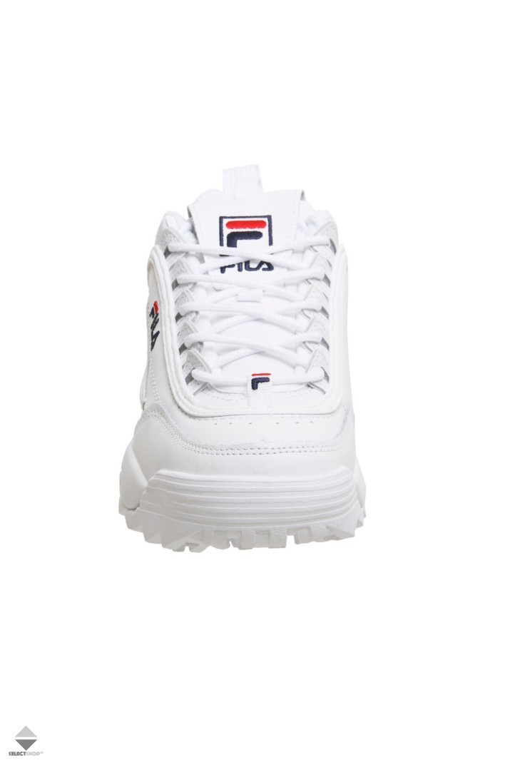 1010302 Fila Low Sneakers White Disruptor 1fg rtqtFw7HSx