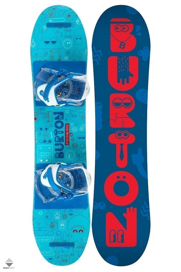 Burton After School Special 90 Snowboard Package