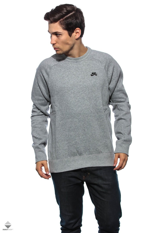 Nike SB Icon Crew Crewneck Grey 800153-063