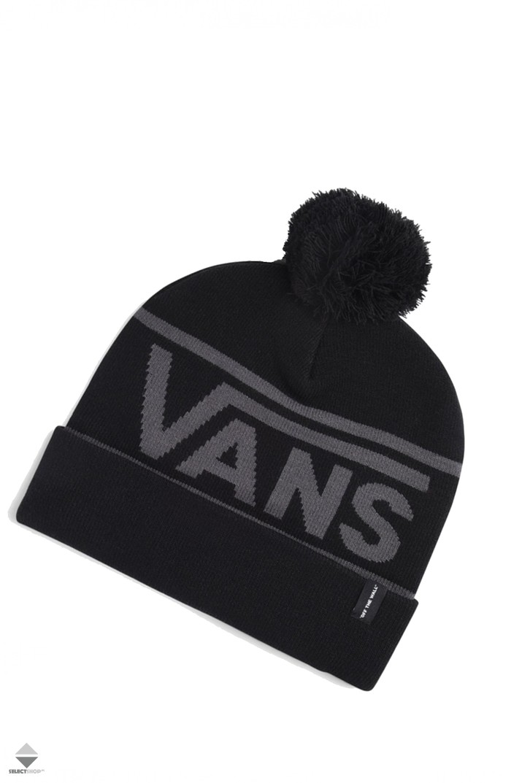 Vans Drop V Beanie Black VA31IUBLK 5d428aeb745