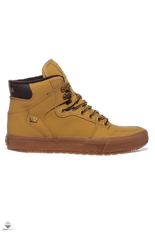 18f251c78c3b Supra Vaider Cold Weather Winter Boots Amber Gold Light Gum 08043-715