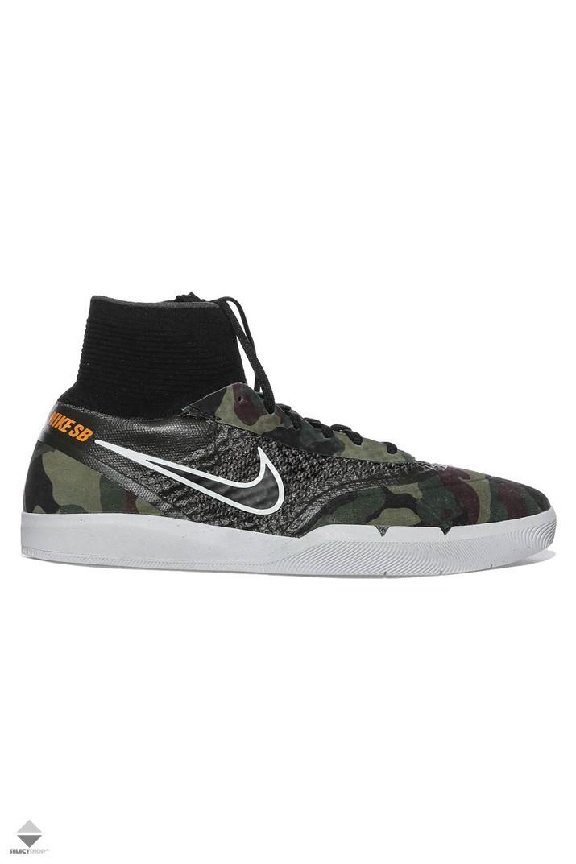 57a0cfe6fb2b Nike SB Hyperfeel Koston 3 Sneakers Cargo Khaki Circuit Orange 819673-381