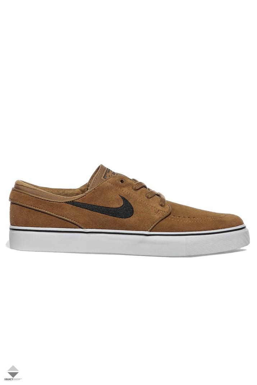 finest selection 4ee7b aed22 Nike Zoom Stefan Janoski Sneakers Golden Beige Black Dore Beige Noir  333824-215