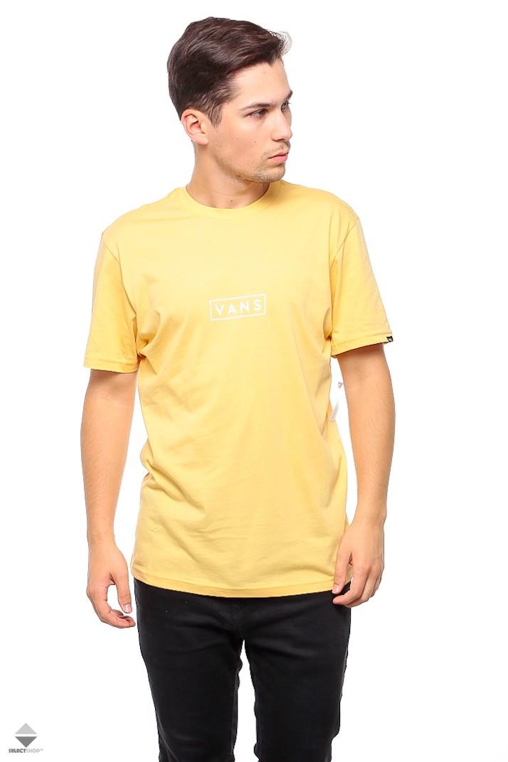 9736e7439f7 Vans Easy Box T-shirt VA3HREM8Q Yellow New Wheat