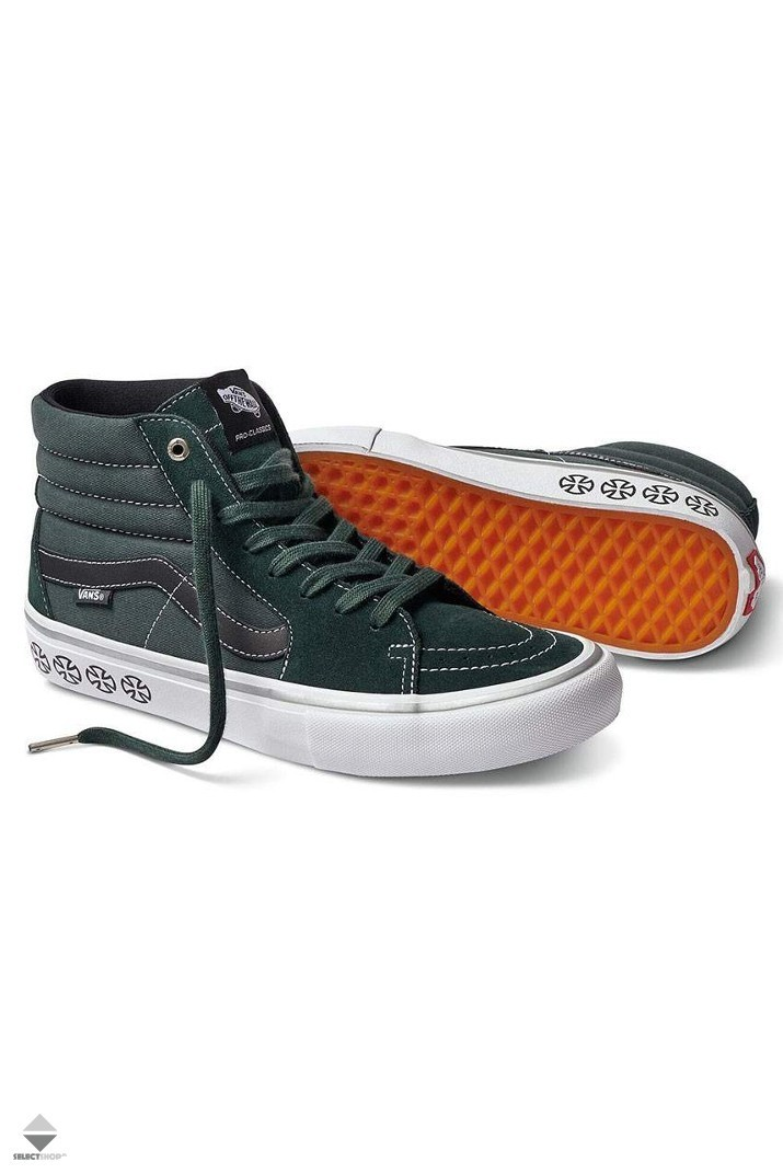 a60762a77fb7 Vans X Independent SK8-Hi Pro Sneakers VN000VHGU241 Independent Spurce