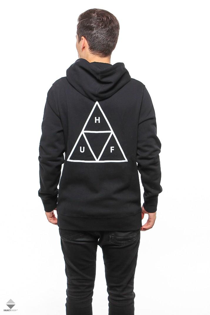 wyprzedaż ze zniżką sprawdzić nowy styl HUF Essentials Triple Triangle Hoodie