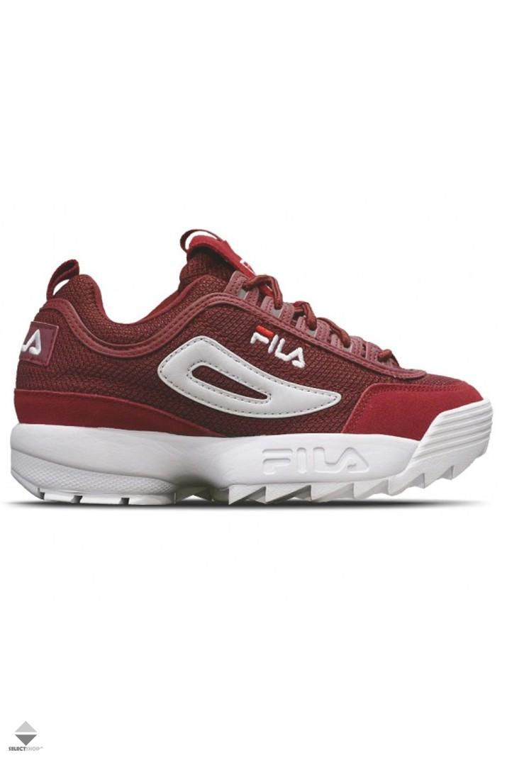 Mesh 1010438 Womens Marsala Low Fila Sneakers Disruptor 40k TXqAf8nwx5