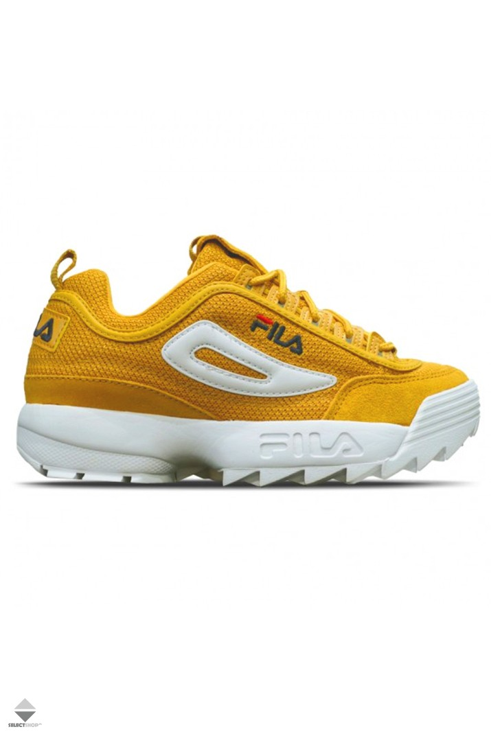a6af9b143e1 Fila Disruptor Mesh Low Womens Sneakers 1010438.60I Inca Gold