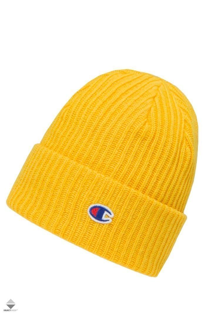 Champion Reverse Weave Beanie 804412 YS026 Yellow afda3222b0fc
