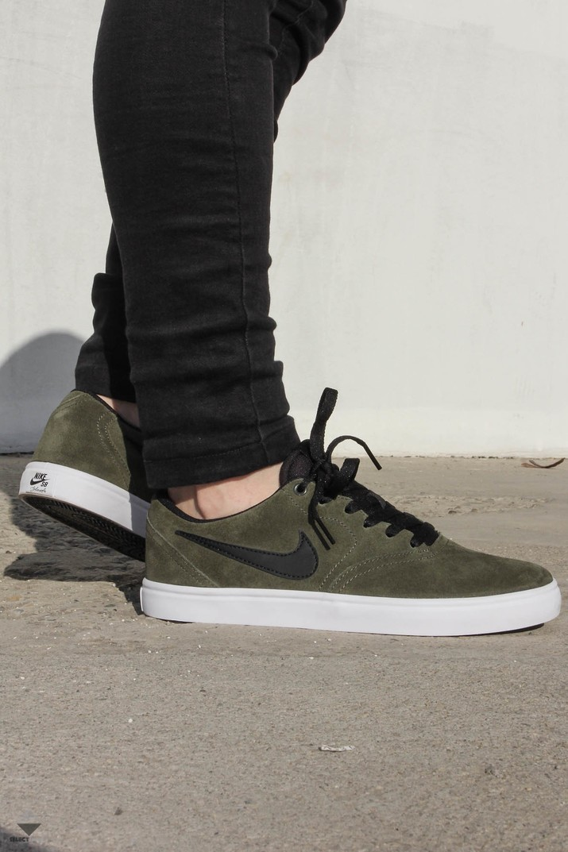 4e9fbd7ae6 Nike SB Check Solar Sneakers Khaki Black 843895-300