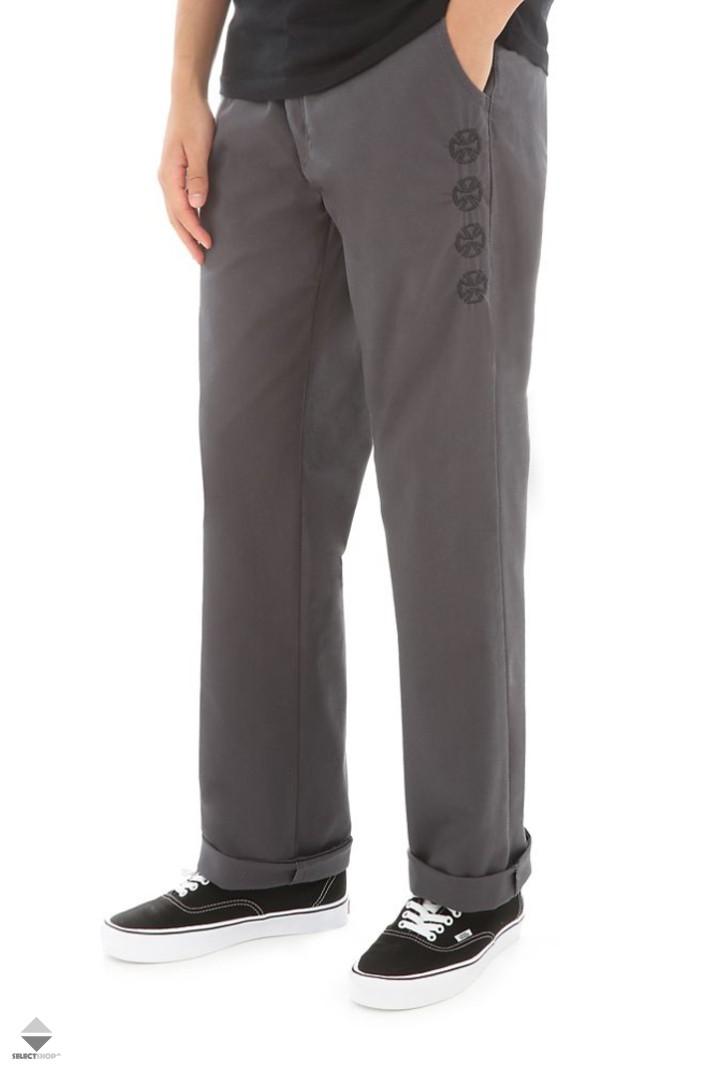 aa70324b5ec Vans X Independent Authentic Chino Stretch Pants Grey VA31JLRUD