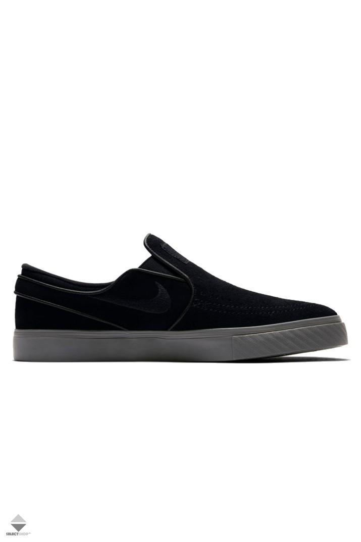 size 40 a470d 551f1 Nike SB Zoom Stefan Janoski Slip-On 833564-008 Black Black Thunder Grey