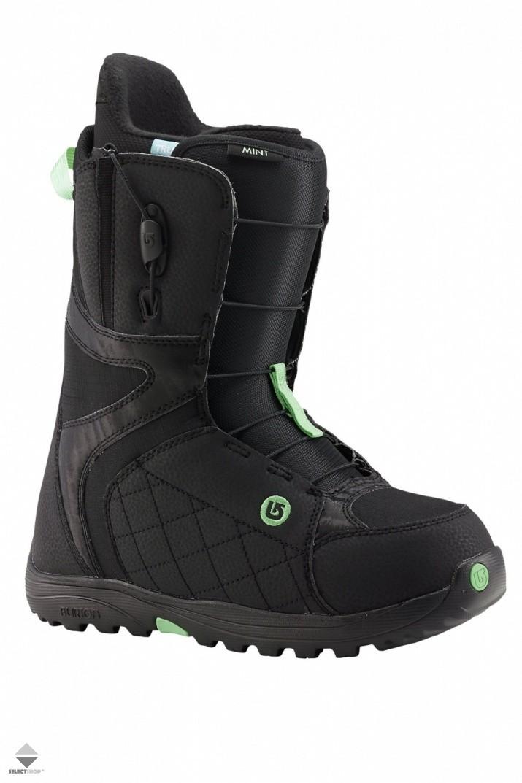 d398994d64 Burton Mint Womens Snowboard Boots Black Mint 10627101017